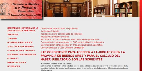 Asociacion de Maestros de la Provincia de buenos Aires