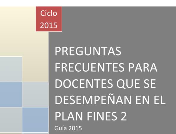 PREGUNTAS FRECUENTES PARA DOCENTES QUE SE DESEMPEÑAN EN EL PLAN FINES 2 (1).docx - Google Drive