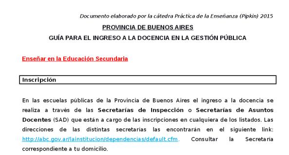 Guía para el ingreso a la docencia en la provincia de Buenos Aires - Gua-para-el-ingreso-a-la-docencia-secundaria-en-Provincia-de-Buenos-Aires-2015.pdf